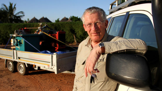 Nick Hewer's African Apprentice